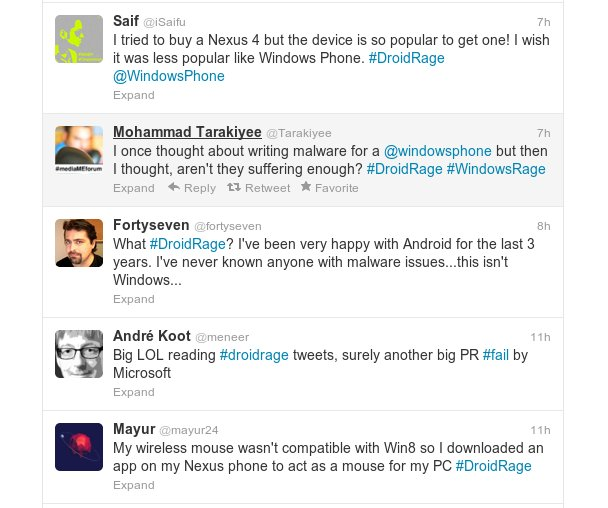 Source: http://www.pocketables.com/2012/12/microsoft-attempts-to-start-an-anti-android-twitter-trend-plan-backfires.html